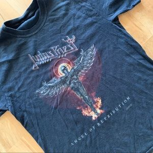 8ef42bab162d61 Tops - Vintage Judas Priest World Tour Concert T-shirt